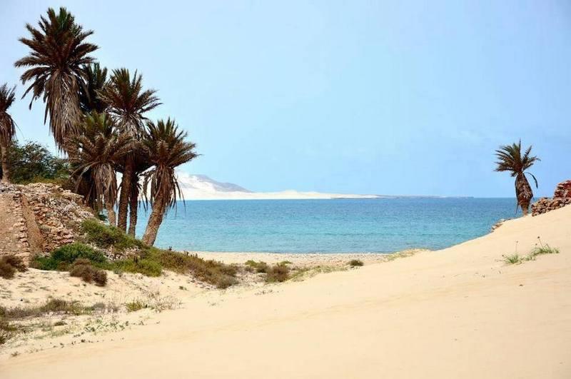 Cap vert ile de boa vista dunes