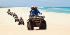 Cap vert ile de boa vista excursion quad