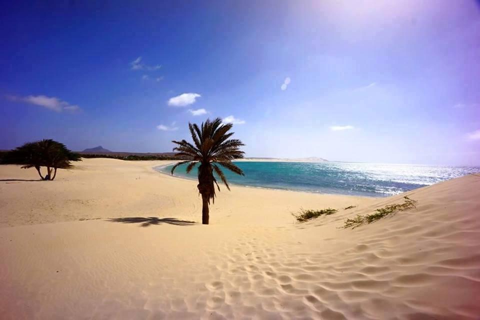 Cap vert ile de boa vista plage boavista dunes