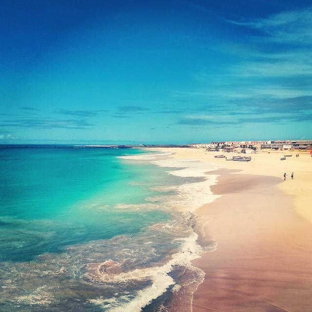 Cap vert ile de maio beach