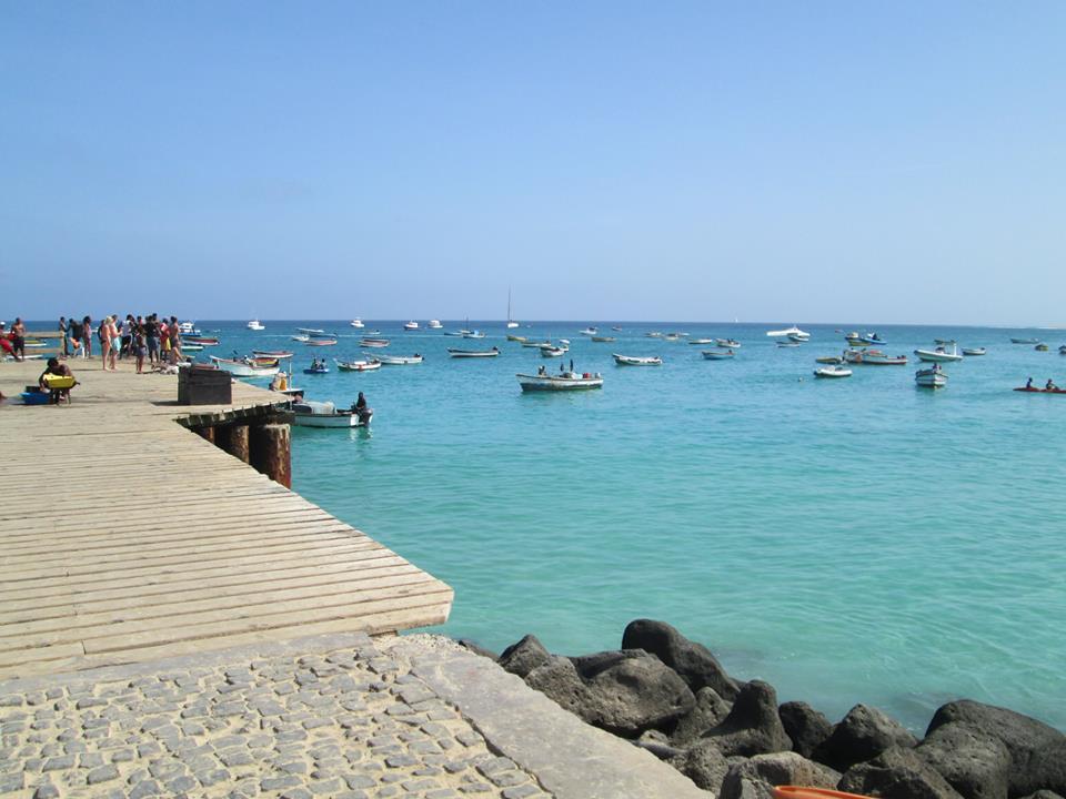 Cap vert ile de sal santa maria plage ponton