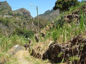 Cap vert ile de santo antao caminho para casa das ilhas