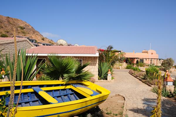 Cap vert boa vista hotel marine club bateau