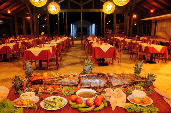 Cap vert boa vista hotel marine club buffet