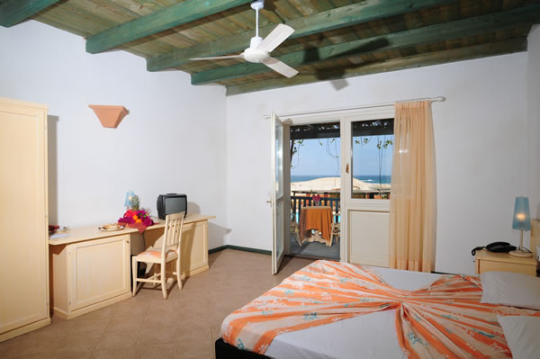 Cap vert boa vista hotel marine club chambre