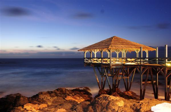 Cap vert boa vista hotel marine club vue