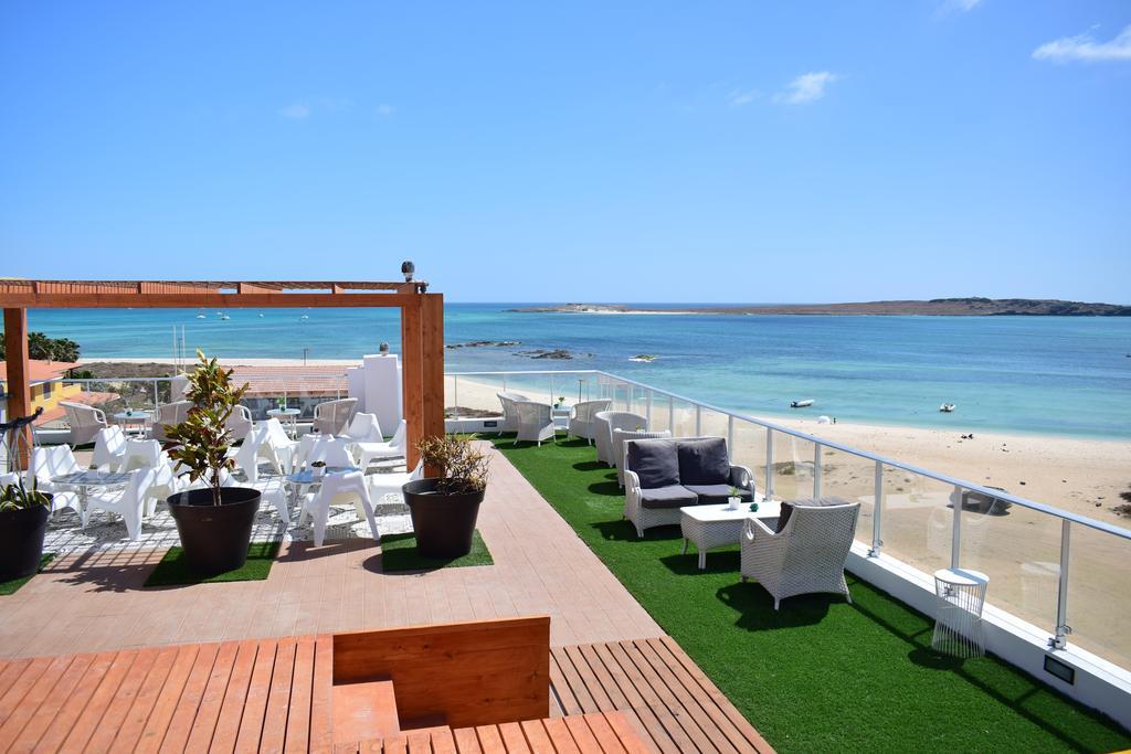 Cap vert boa vista hotel ouril vue plage