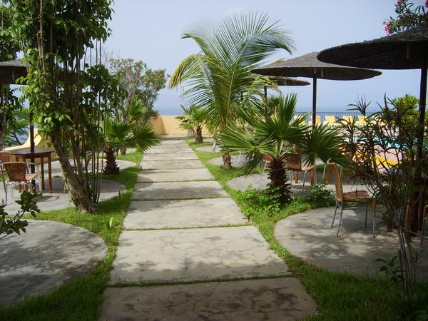 Cap vert ile de fogo hotel xaguate jardin