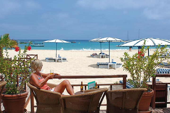 Cap vert ile de sal hotel morabeza beach club