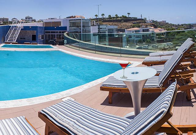 Cap vert ile de santiago hotel vip praia piscine