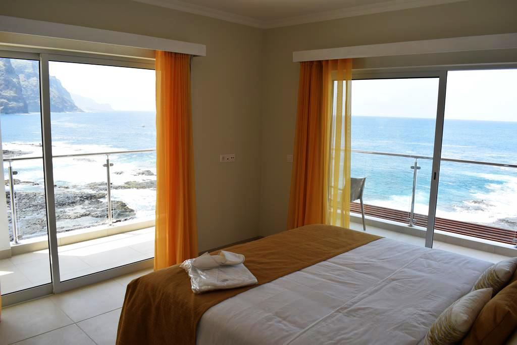 Cap vert ile de santo antao hotel tiduca ponta do sol chambre vue