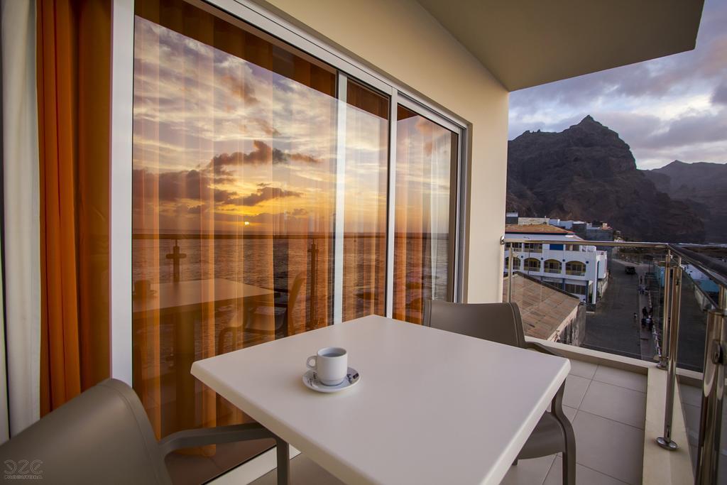 Cap vert ile de santo antao hotel tiduca ponta do sol vue bacon chambre