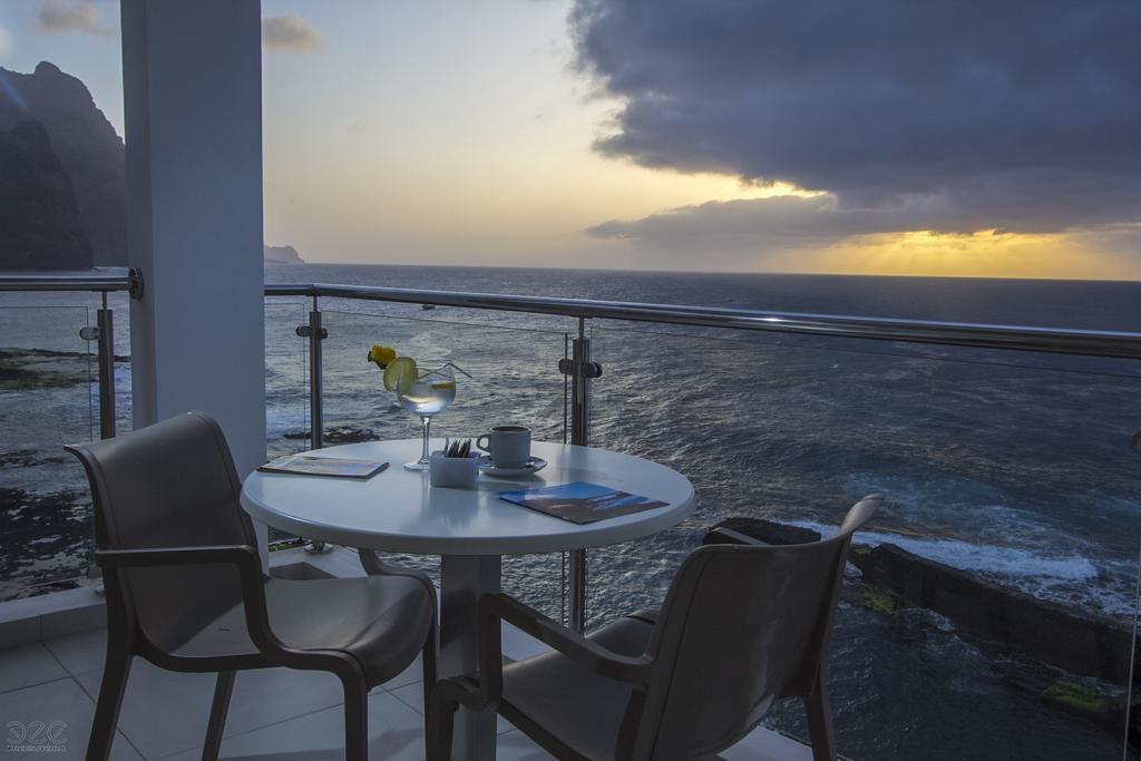 Cap vert ile de santo antao hotel tiduca ponta do sol vue balcon