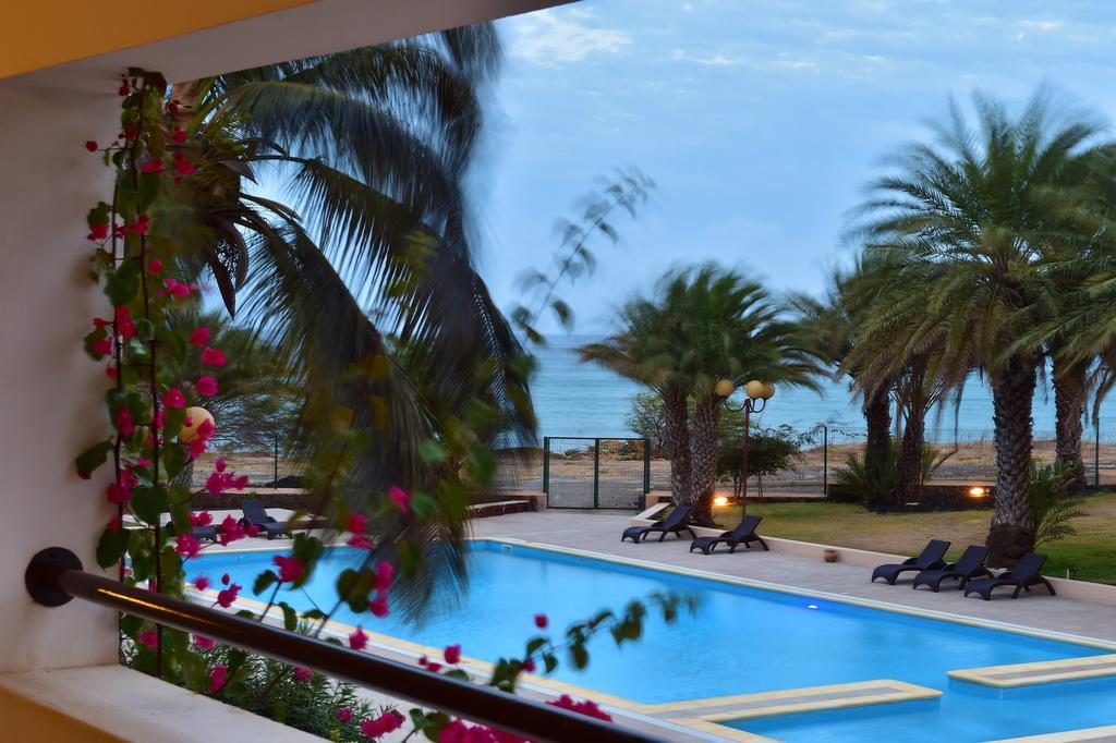 Cap vert ile du cap vert santiago pria hotel pestana tropico piscine