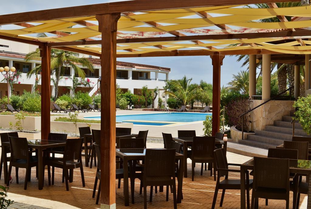 Cap vert ile du cap vert santiago pria hotel pestana tropico terrasse