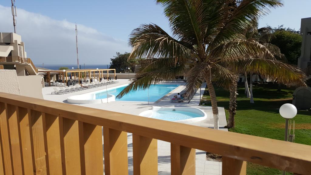Cap vert ile santiago praia hotel praia mar balcon