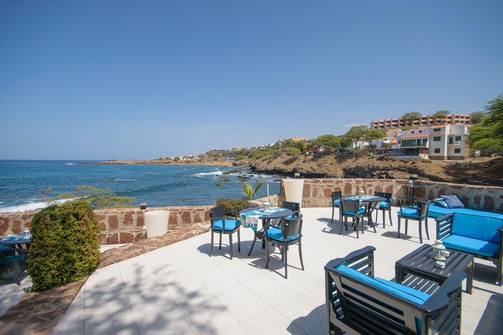 Cap vert ile santiago praia hotel praia mar terrasse