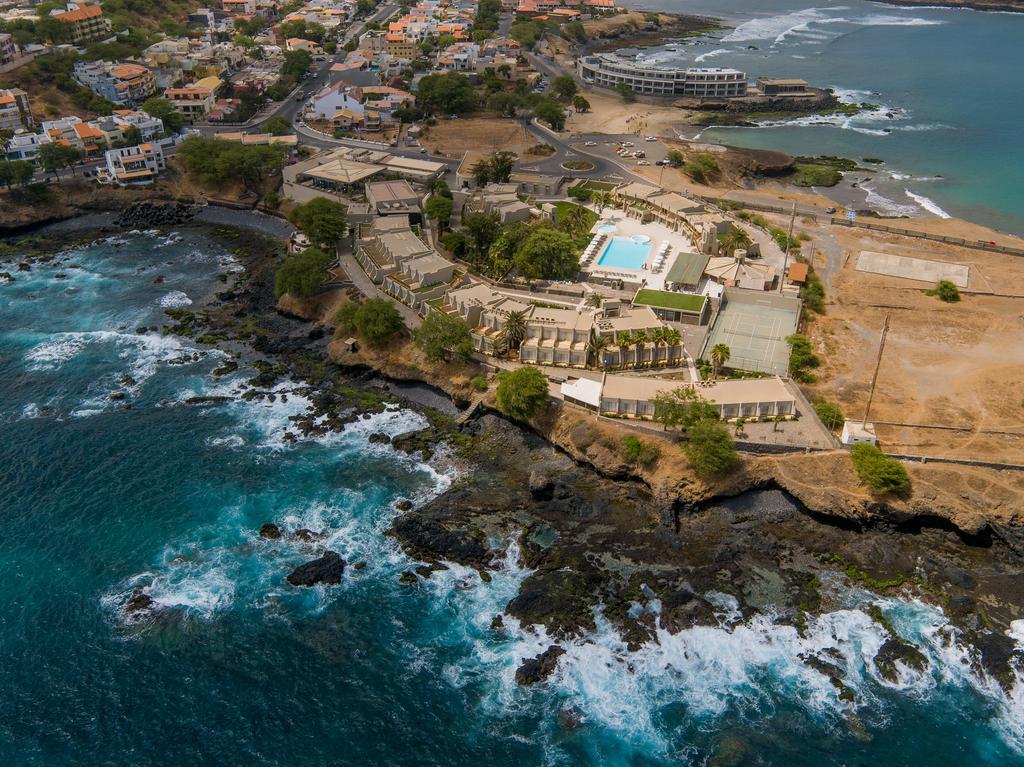 Cap vert ile santiago praia hotel praia mar vue generale