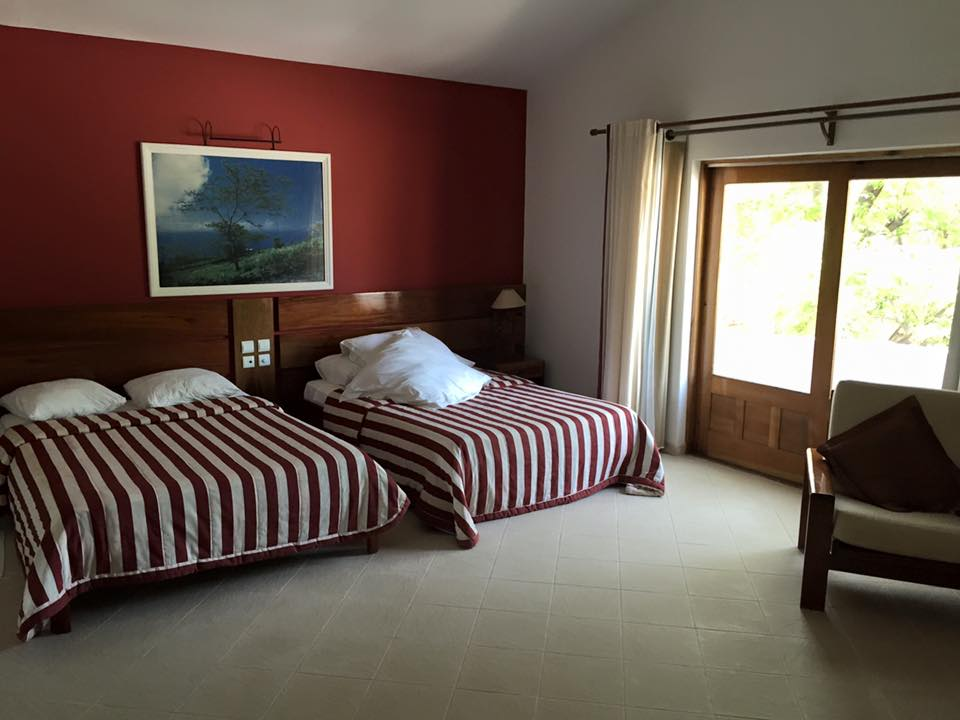 Cap vert le de sal hotel odjo d agua chambre 2 lits
