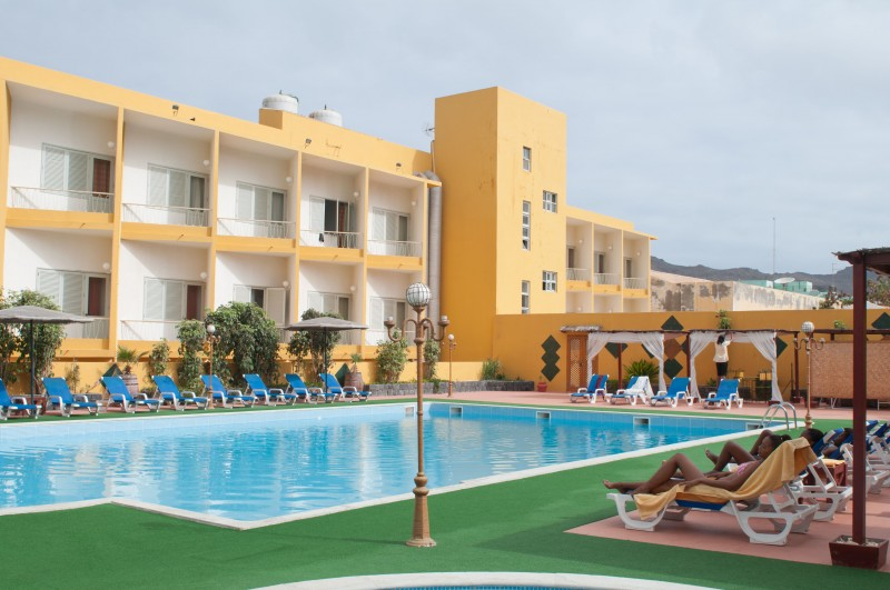 Image sejour/cap vert ile de sao vicente hotel porto grande piscine