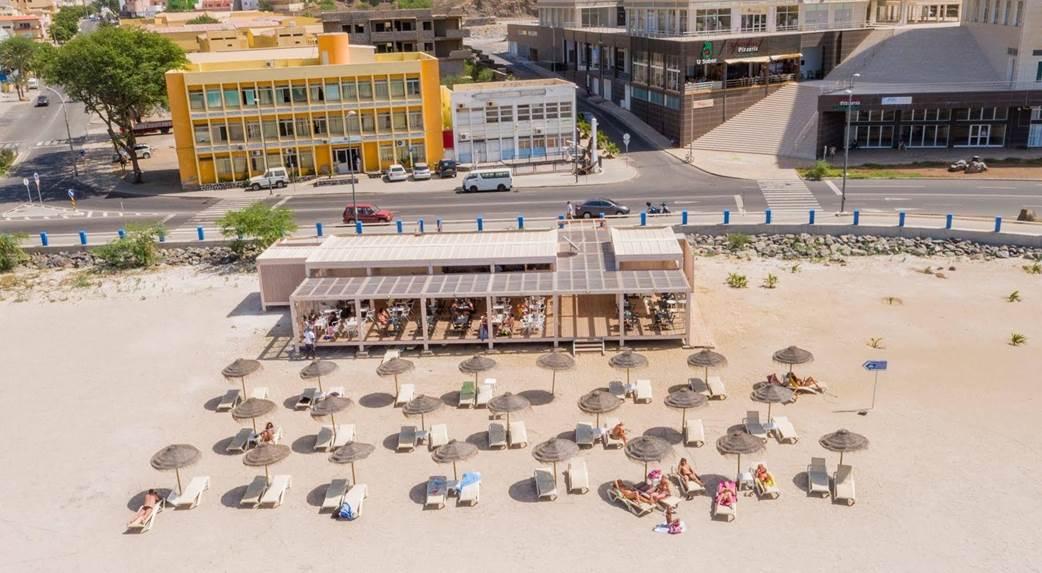 Image sejour/cap vert ile de sao vicente hotel porto grande plage