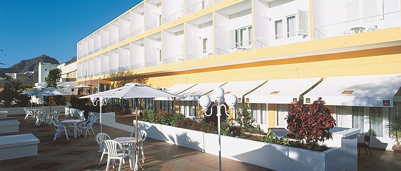 Image sejour/cap vert ile de sao vicente hotel porto grande terrasse